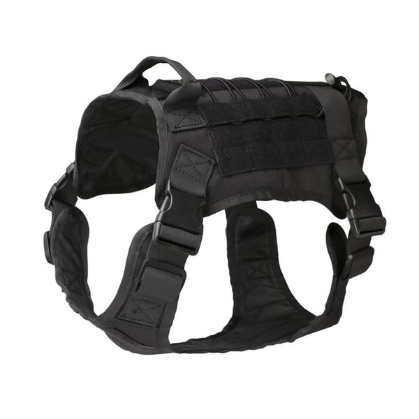 Tactical Dog Modular Harness with No Pull Front Clip law enforcement Working Cannie Molle Training Hunting Vest new