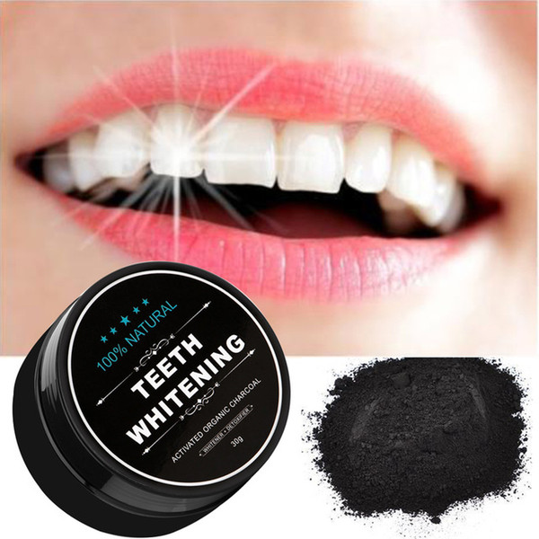 top popular Oral Whitening Nature Activated Charcoal Powder Decontamination Tooth Yellow Stain Oral TeethCare 30g 2021