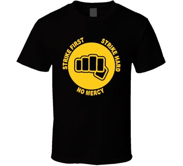Каратэ Kid путь кулак Майка Мужчины Женщины унисекс мода футболка Бесплатная доставка