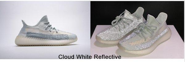 Nuvem branca reflexiva