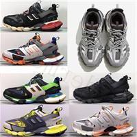 Новое качество трека 3.0 Tess Paris Gomma Meille черный низкий трек 3 м Triple S кроссовки кроссовки дизайнерская обувь