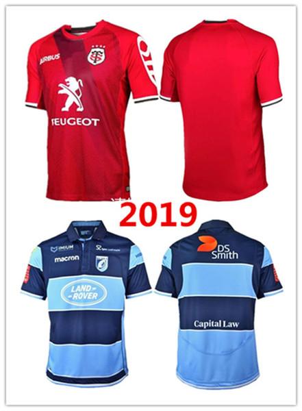 Jersey de rugby de Toulouse Jersey de rugby de Toulouse 2019-2020Toulouse Rugby Jerseys Liga camiseta tamaño S-3XL