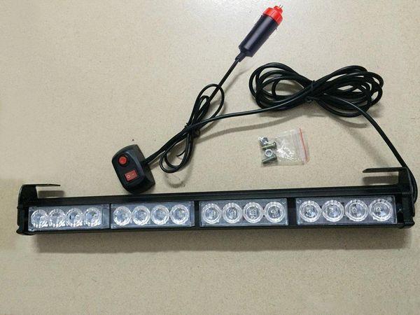 İtfaiyeci yanıp sönen led stobe ACİL 16 LED BULB DASH / DECK STROBE IŞIK süper parlak otomatik led ışık yanıp sönen