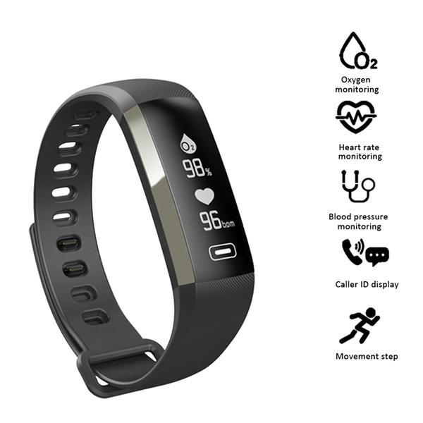 M2 Pro Smart Wristband Fitness Tracker Bracelets Heart Rate Blood Pressure Watch Pulse Meter Oxygen Waterproof SMS Call Sport Band Bracelet