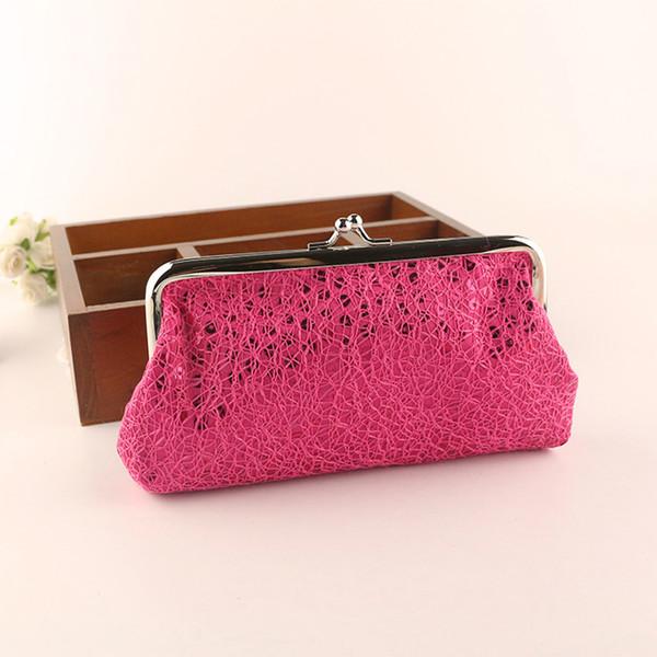 Maison Fabre Pop Fashion Lentejuelas Mujeres Estilo encantador Lady Wallet Key Packet Hasp Sequins Purse Clutch Storage Bag