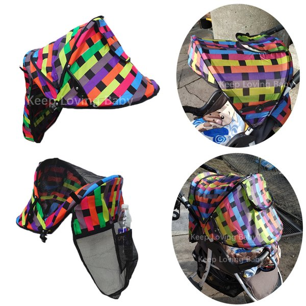 Summer Baby Stroller Sunshield Shade Protection Hoods Canopy Stroller Accessories Baby Sun Visor Carriage
