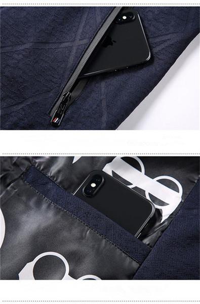 2019 New Designer Mens Fashion Casual Jackets marca de alta qualidade manga comprida e cores naturais para revestimento de esporte com tamanho M-4XL QSL198196