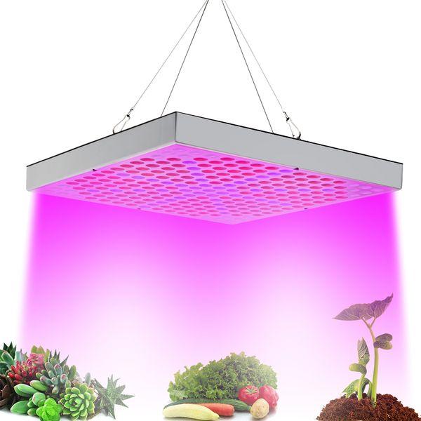 LED Grow Lights 45W Lámpara de planta AC85 ~ 265V Full Spectrum LED Greenhouse Plants Hydroponics Flower Panel Grow Lights