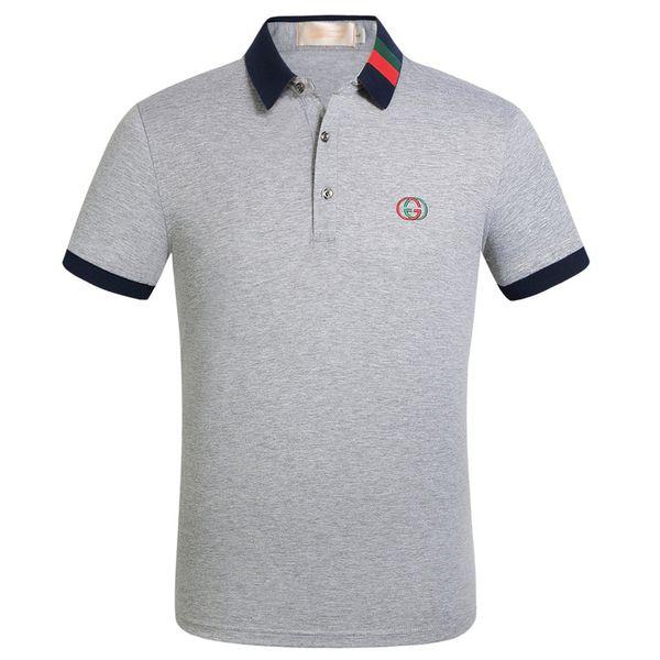 Sıcak Erkek Polo Tişörtleri Moda Dijital Baskılı Kısa Kollu T-Shirt Gömlek Casual Erkek Giyim Ücretsiz Nakliye