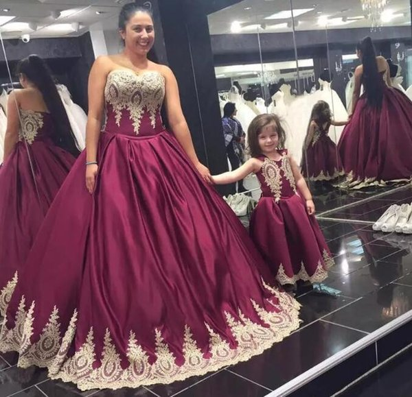 Plus Size Burgundy evening Dresses with lace Appliques Lace-Up Sweetheart Strapless Masquerade Ball Gown custom made stain Mutter Kleid