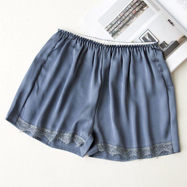 2019 Fashion Black/White Free Size Women Summer New Hot Girl Elastic Casual Shorts High Waist Lace Shorts Fitness