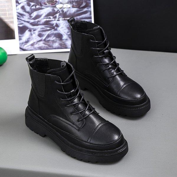 Bottines Chaussures Martin Chaussures Lady Blanc Automne Foot Bottes De Mode Marque Plate Forme Chaussure Bottes De Femmes Acheter Nouvelle Fille nOkw08P