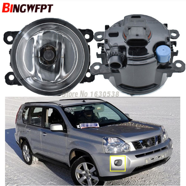 2x LED Fog Lights For NISSAN X-Trail T31 Closed Off-Road Vehicle 2007-2014 Car styling DRL LED Daytime Running Lamps