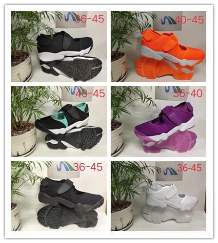 Yüksek kalite Sıcak Erkekler ve Kadınlar HAVA RIFT ayakkabı Erkekler Ninja ayakkabı açık spor sandalet
