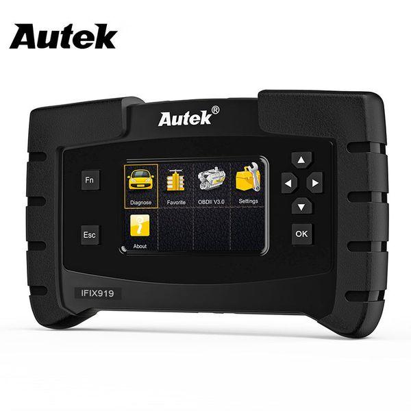 Autek IFIX919 Car Scanner Automotive OBD2 Scan Auto Diagnostic OBD OBD2 Engine Airbag AT ABS SAS EPB Oil Reset Car OBD 2 Scanner
