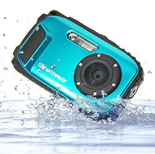 BEESCLOVER 16MP 2.7 pollici LCD HD impermeabile Digital Video Camera DVR Camcorder 8X ZOOM fotocamera impermeabile Image Stabilization R60