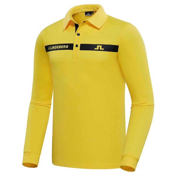 best selling New Men clothes Dust_Proof Golf Shirt Latest Spring summer JL Golf sports shirt Full Sleeves Anti-Pilling Short Golf T-Shirt Free shipping
