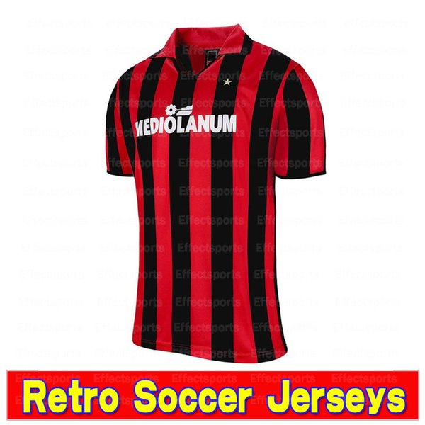 Retro 1991-1992 Acmilan