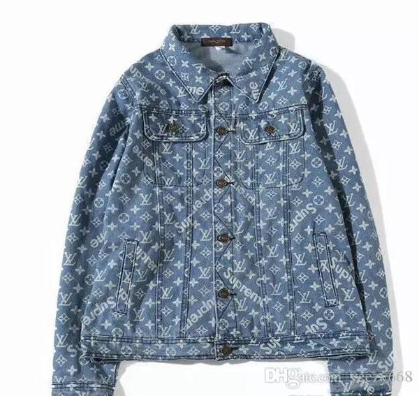 Men brand Best Quality Justin Bieber Fear Of God Denim Jackets women Vintage Style Selvedge Jean Coats Designer Brand Clothing