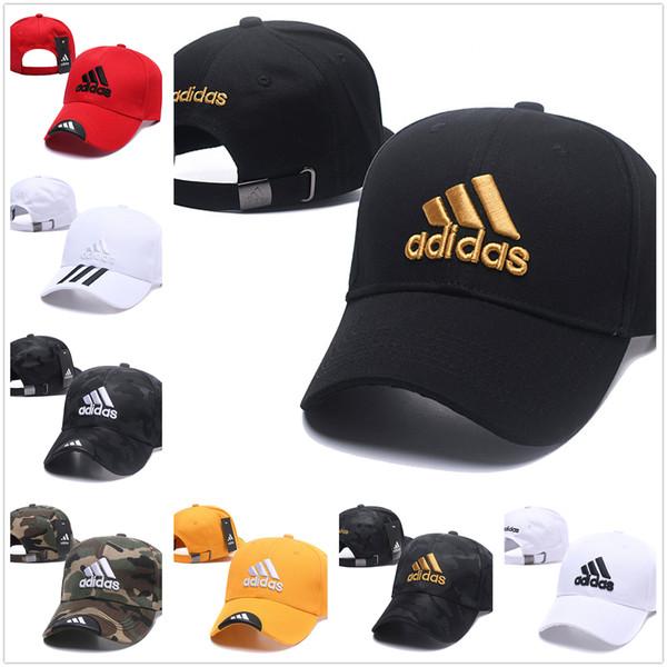 La alta calidad desombrero de adidas marea gorra de béisbol de tenis para los hombres y las mujeres casquillo de Hip-hop para los deportes al aire libre en primavera, verano y otoño