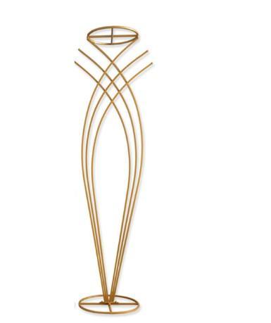 Gold Flower Vases