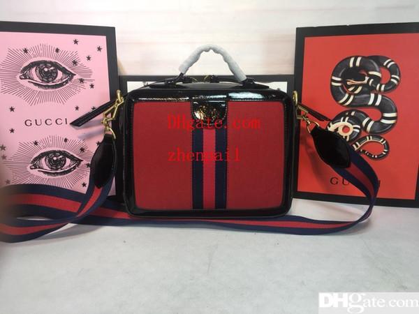 to2019 Новый список Горячая женская сумка на плечо в стиле ретро высокого качества Украшенная красная и зеленая лента