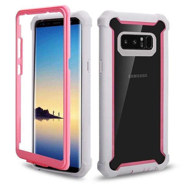 Samsung Galaxy S10 Durumda uzay serisi için Yüksek Etki Temizle TPU ve TP Telefon Kılıfı Arka Kapak için Samsung S10 Artı