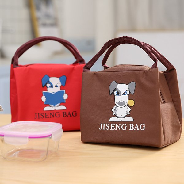 Summer Portable Picnic bag Lunch Isothermic Bags Ice Packs 5 styles Character Daily Storage Bag mixed colors New Arrive