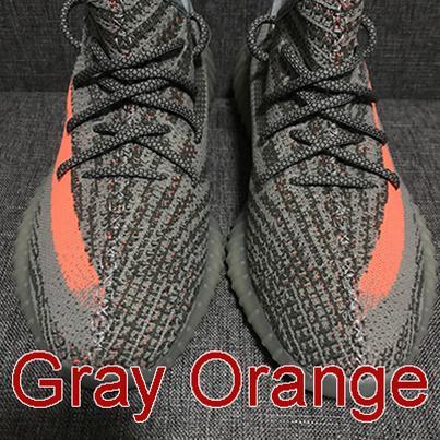 Grigio strisce arancioni