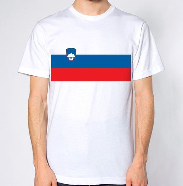 Slovenia New T-Shirt Map Flag Top Country Gift Present City Holiday Tee Short Sleeve Plus Size t-shirt colour