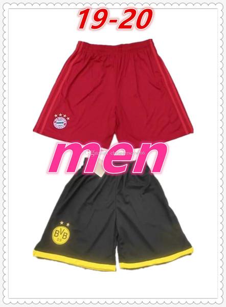 Bayern Munich Schalke football soccer shorts mens designer t shirts 2019 2020 mens designer summer shorts pants swim shorts jerseys
