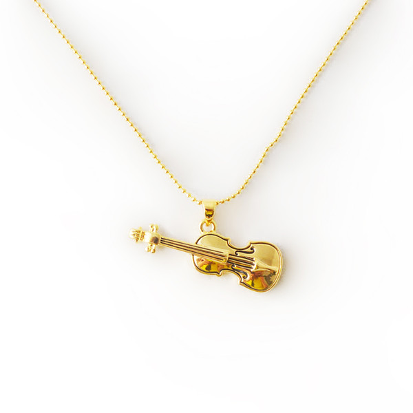 best selling Music Note Pendant Necklace for Women Girls Mother's Day Valentine's Day Jewelry Gifts