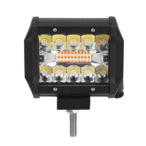 2pcs LED travail étanche Light Bar Flood Spots pour camion de voiture SUV