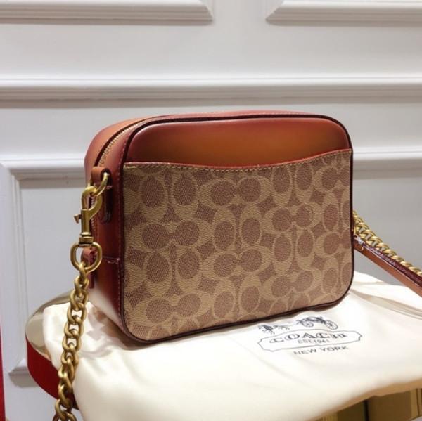 Handtasche Mode Luxus Designer Taschen Tote Messenger Bag Crossbody Taschen 2019 schöne Produkte 21 * 16 * 7cm Futter mit Logo