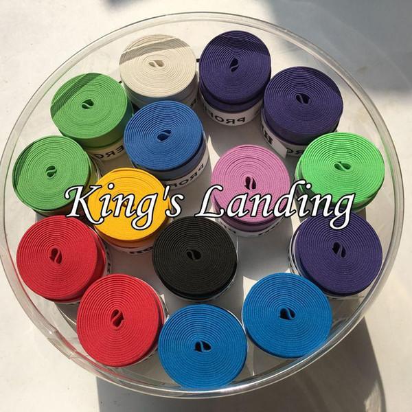 Al por mayor- 60 piezas Soft antideslizante W Profile overgrip Racket Handle Tape Overgrip Tennis Badminton Fishing Rods Racquet Sports Squash Tape