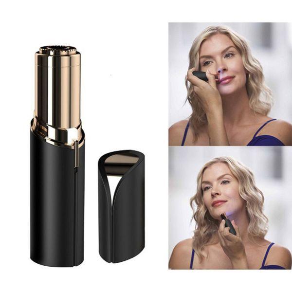 Multifunction Lipstick Eyebrow Trimmer Face Brows Hair Remover Epilator Pen Mini Electric Shaver Painless Eye Brow Epilator