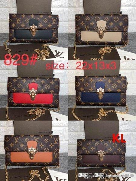 281vLOUIS VUITTON Women MULTIPLE Leather Wallet For Men Handbags 3A  Designer Houlder Bag Tote Atchel Clutch Women Purse C6 Bage 281 LOUIS Bride  Hair