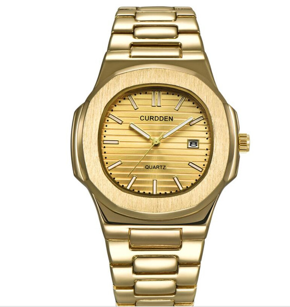 Top Sell Men Luxury PP Watches 45MM Quartz Movement Waterproof Nautilus Designer Stainless Steel high quality Wristwatch