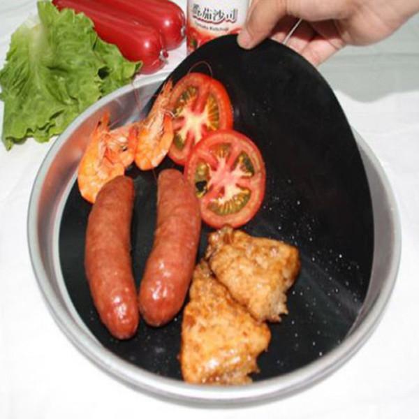 1 adet Yüksek Sıcaklık Yapışmaz Tava Tava Pişirme Astar Levha Wok Paspaslar Mutfak Pişirme Araçları Pan Astar Yüksek kalite