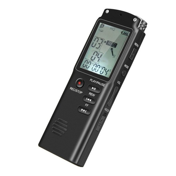 Professional 8 Hours 8GB/16GB/32GB Voice Recorder USB Dictaphone Digital Audio Voice Recorder With WAV,MP3 Player New