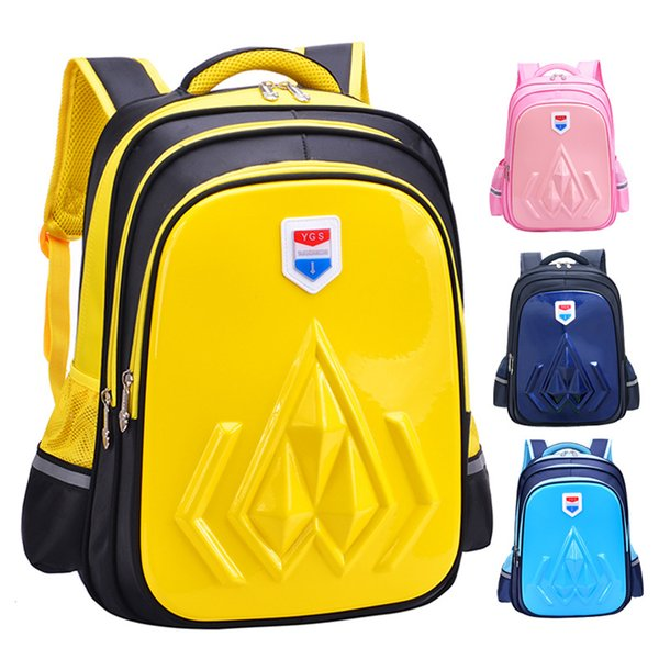 Waterproof backpacks Children School Bags Girls Boy 3D Primary Students school Backpack Schoolbag Kids satchel rucksack mochilas