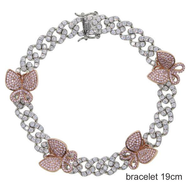 rosa Bracciale 19 centimetri