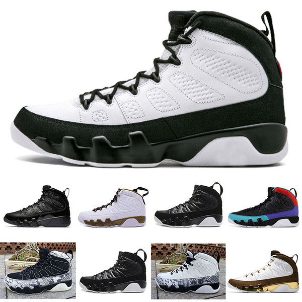 OG space jam release 2019 JUMPMAN Snakeskin 9 Dream it do it Mens Basketball Shoes City of Flight Statue bred JODE US 7-13
