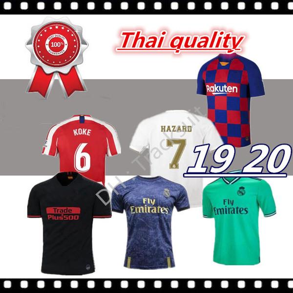 Calidad de Tailandia 2019 2020 nuevo real Madrid modric Marcelo 19/20 PELIGRO camisetas de fútbol ASENSIO ISCO RAMOS inicio Tercera camiseta