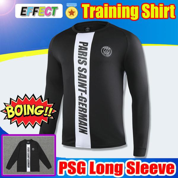 SıCAK SATıŞ 2019 2020 Paris Saint-Germain Kazak 19/20 PSG Futbol Forması Maillot De Ayak Uzun Kollu Eğitim gömlek Futbol Eşofman