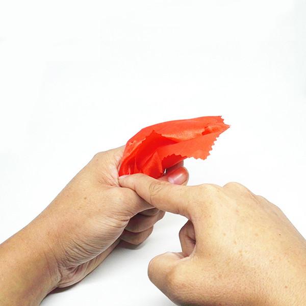 Simulação de Plástico Mágico Dedo Polegar Cachecóis Desaparecer Ferramentas de Habilidade Mágica Hallowmas Truque Crianças Partido Brinquedo Incrível