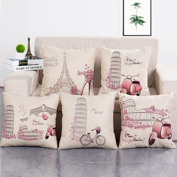 Pleasant Retro Pagoda Couch Cushion Covers Home Decorative Pillows Cases Cotton Linen 45X45Cm Seat Back Bedding Pillowcase Nz 2019 From Crafts T Nz 4 83 Beatyapartments Chair Design Images Beatyapartmentscom