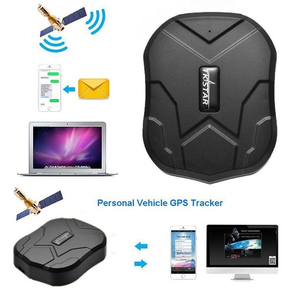 TKSTAR 5000mAh Long Life Standby 120 giorni TK905 Quad Band GPS Tracker Dispositivo di localizzazione in tempo reale impermeabile Veicolo Localizzatore GPS per auto