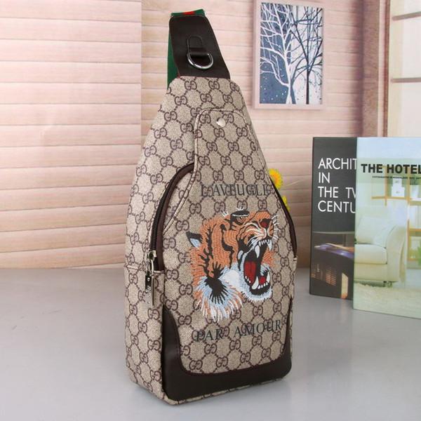 louissYSLhandbag Nouveaux designers classiques sac d'embrayage carte portefeuille en cuir sac chaîne imprimé sac concepteurs messager épaule hommes messager