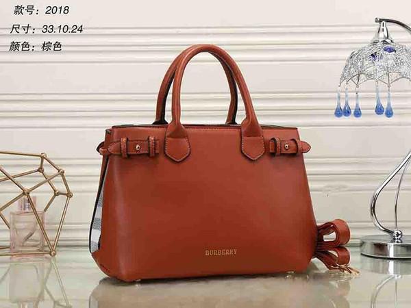 De calidad superior de las mujeres europeas y americanas a estrenar Señora cuero real Artsy Handbag Tote Bag Purse V099